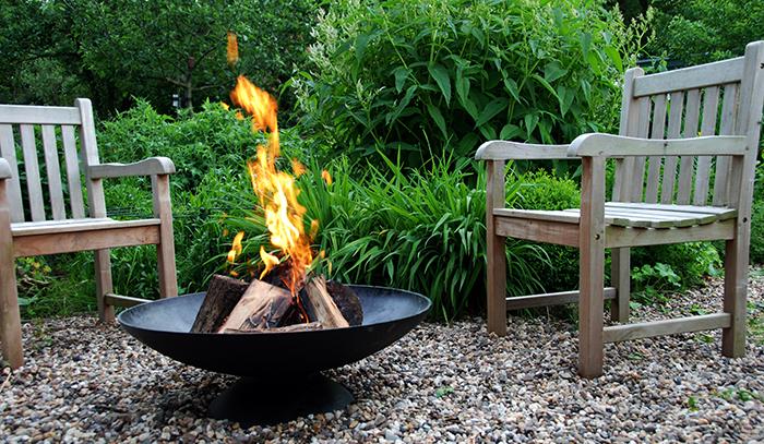Vuurkorf aan, laat de zomer maar komen?